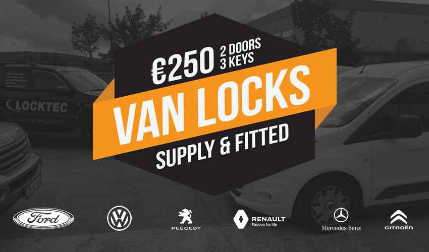 Van Locks Supply & Fitted Ireland Locktec